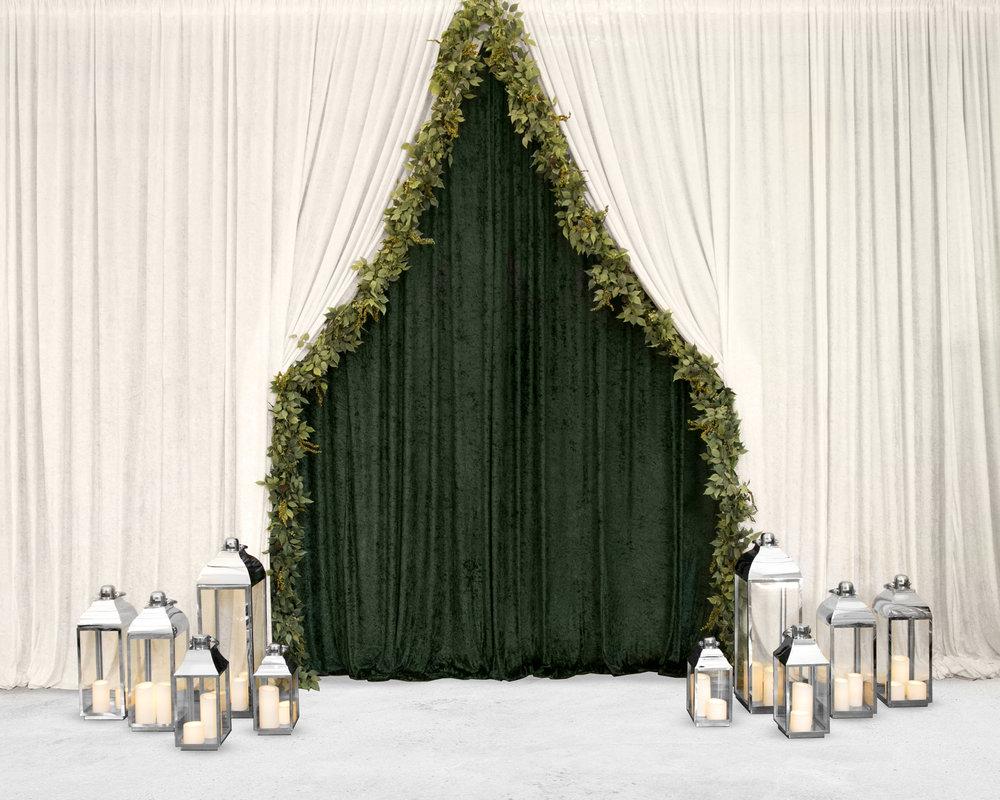wedding draping melbourne