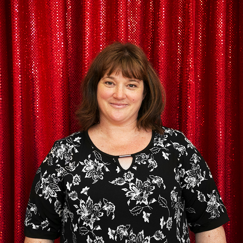 Dee Adams - Dee is our Admiral in charge and the official whip cracker. Come on ladies we all know that the guys aren't really in charge. Every single event that Active Draping styles has her handy work stamped all over it.
