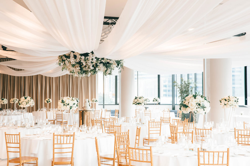 They decided that the venue and wedding styling were a huge part of their special day. -