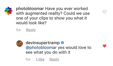 A few weeks ago, we reached out to @devinsupertramp and he graciously responded. Scroll over to see what we made using his footage of @kualoaranch featuring @megansupertramp! We could also use the help of #teamsupertramp to tag Devin so he sees this! . . . . . #🎈 #balloon #kualoaranch #teamsupertramp #music #nature #beautifullandscape #nature #filmphotography #photography #videography #harrypotter #augmentedreality #picturescometolife #kickstarter
