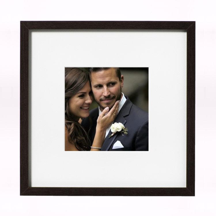 $40 - Square Wood Frame -