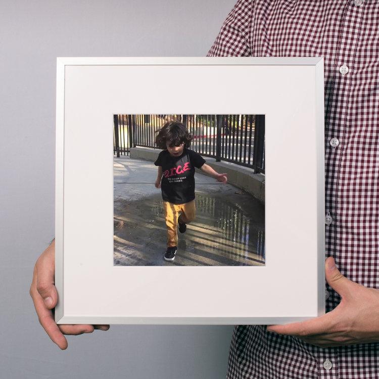 $40 - Square Aluminum Frame -