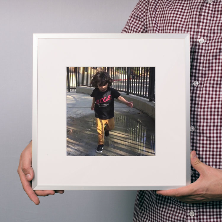 $40 - Square Metal Frame -