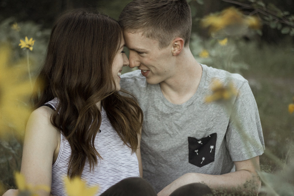 Woodsy Summer Engagements