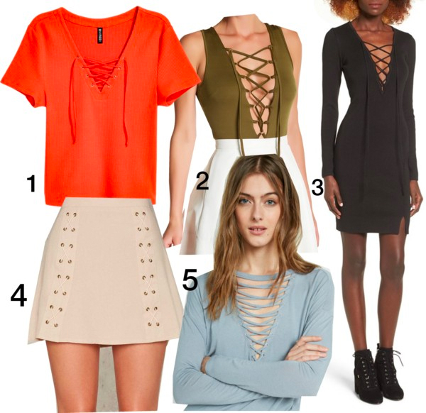 Lace-Up Trend 5 Ways