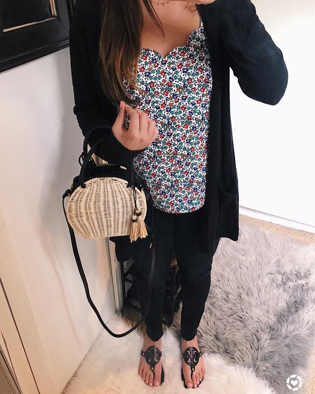 Happy #sunday everyone and happy #mothersday to all the wonderful mommys out there 💗 especially my beautiful mama @beautifulmakeupsearch who I'm on my way to dinner with ☺️ but I wanted to share my #OOTD since almost all of it is #onsale 😍 like my cami for only $21, my favorite cardigan for under $25 and my sandals which are fully stocked and 30% off in white! Link in my bio for the details or shop my outfit via screenshot through the @liketoknow.it app! // http://liketk.it/2vJMm #liketkit #LTKunder50 #LTKshoecrush #LTKitbag #LTKsalealert • • • • #igstyle #whatiwore #styledbyme #mystyle #fashion #fashionblogger #blogger #weekendvibes #wiw #targetstyle #spring #liketoknowit #springfashion #stylecollective #SC #scsisterlove #mablogger #bostonblogger