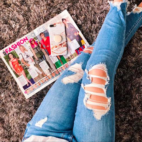 Distressed Denim Under $60