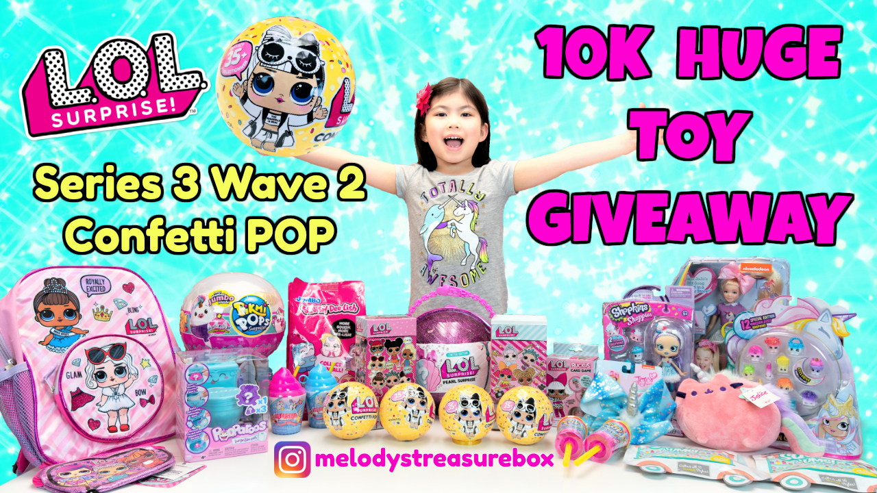 Huge Giveaway Series 3 Wave 2 Lol Surprise Confetti Pop Purple