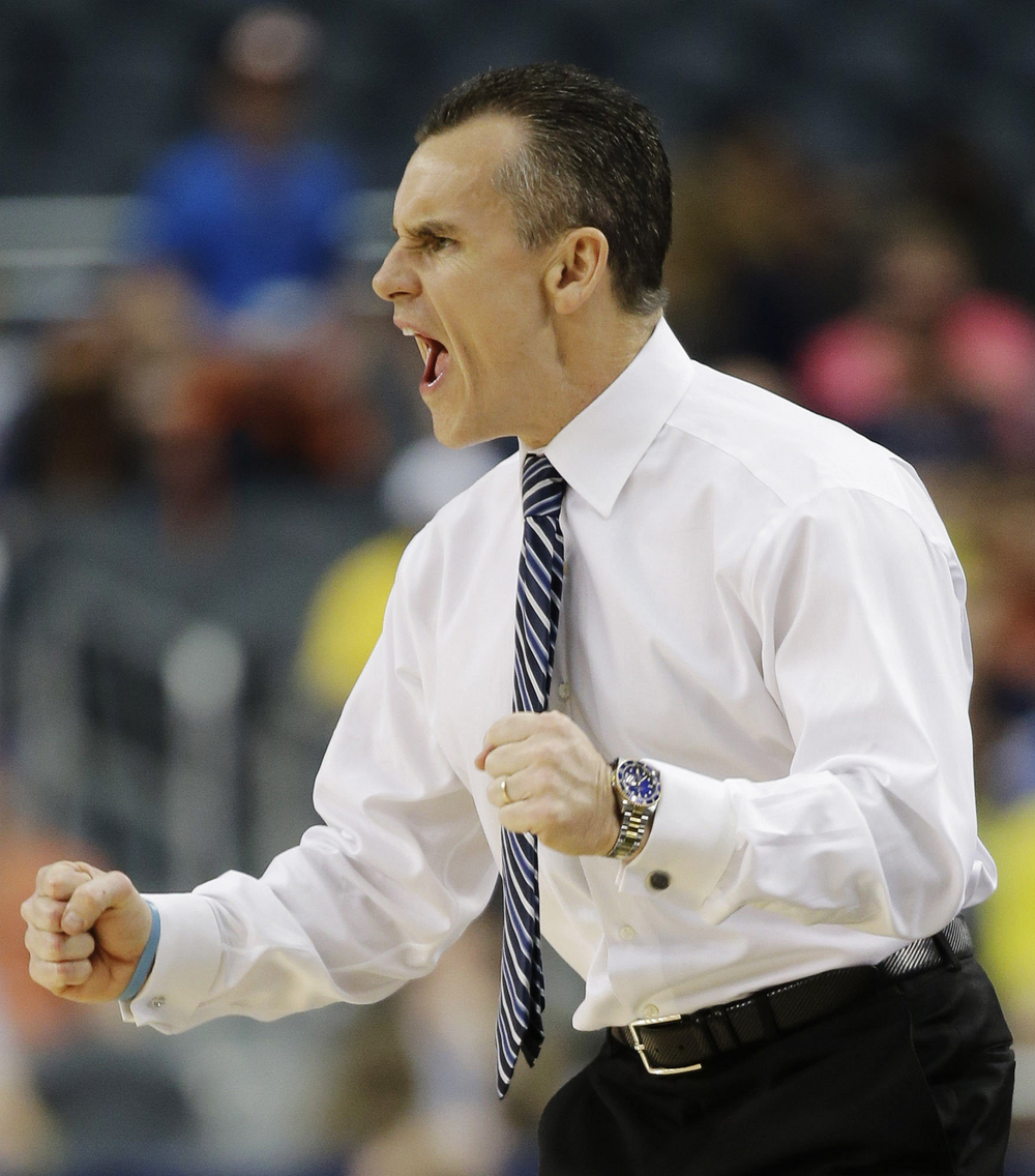 """If you don't feel you have something to prove every day, you'll never improve""  - - Billy Donovan"