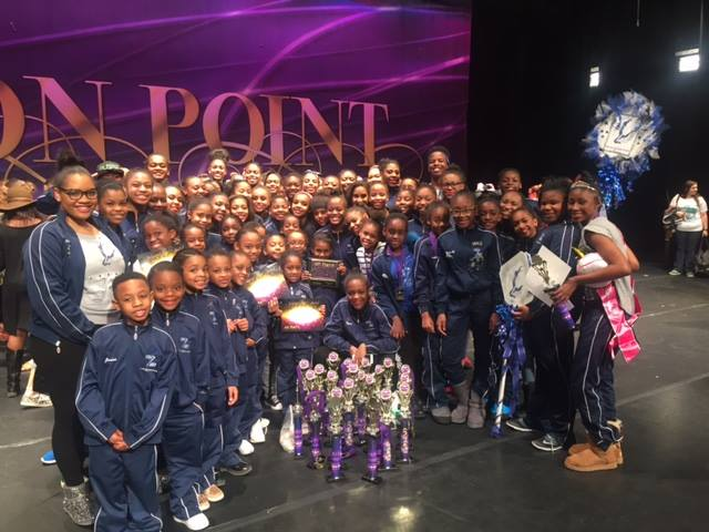 ON POINT NATIONAL DANCE competition, SPRING 2016