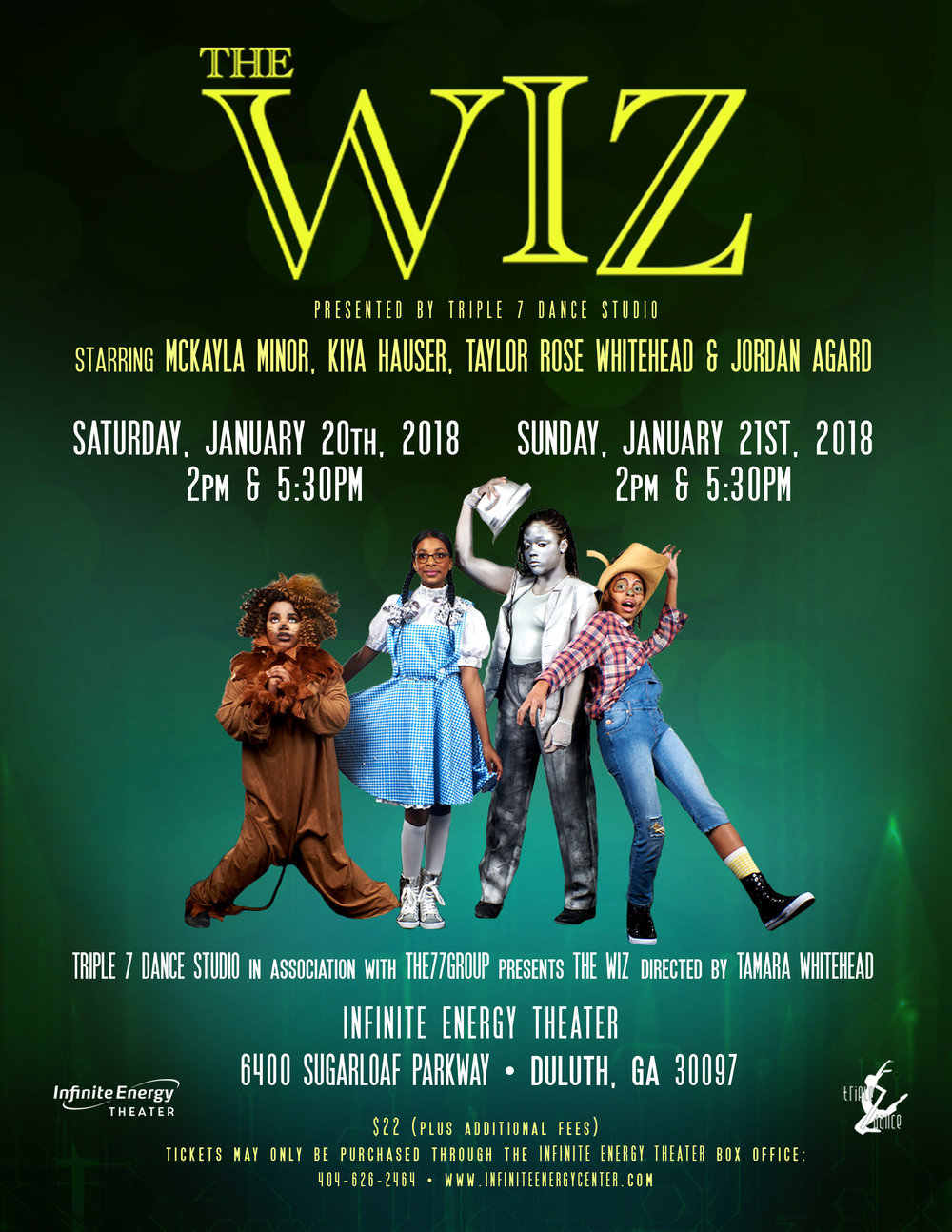 THE WIZ - Coming January 2018
