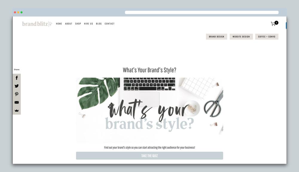 Brand Blitz Style Quiz Final