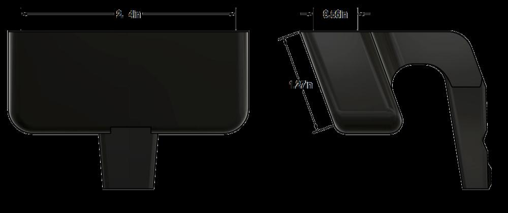 iPhone 6/7/8, Samsung Galaxy S5 or similar