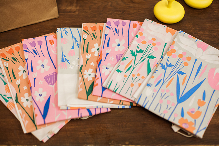 house that lars built // coloring party // tea towels by lisa rupp