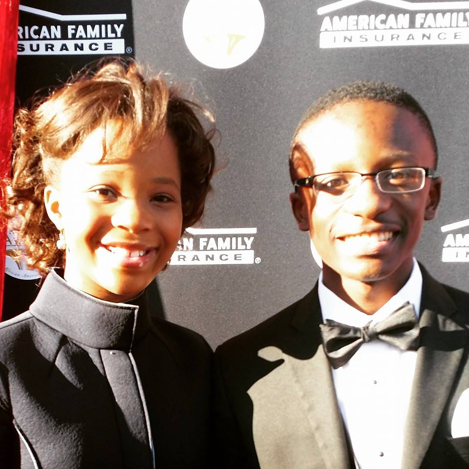 Quvenzhane Wallis and Jared Sawyer Jr.