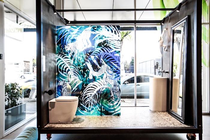 Caroma // Digital illustration for shower screen // Adelaide, Australia
