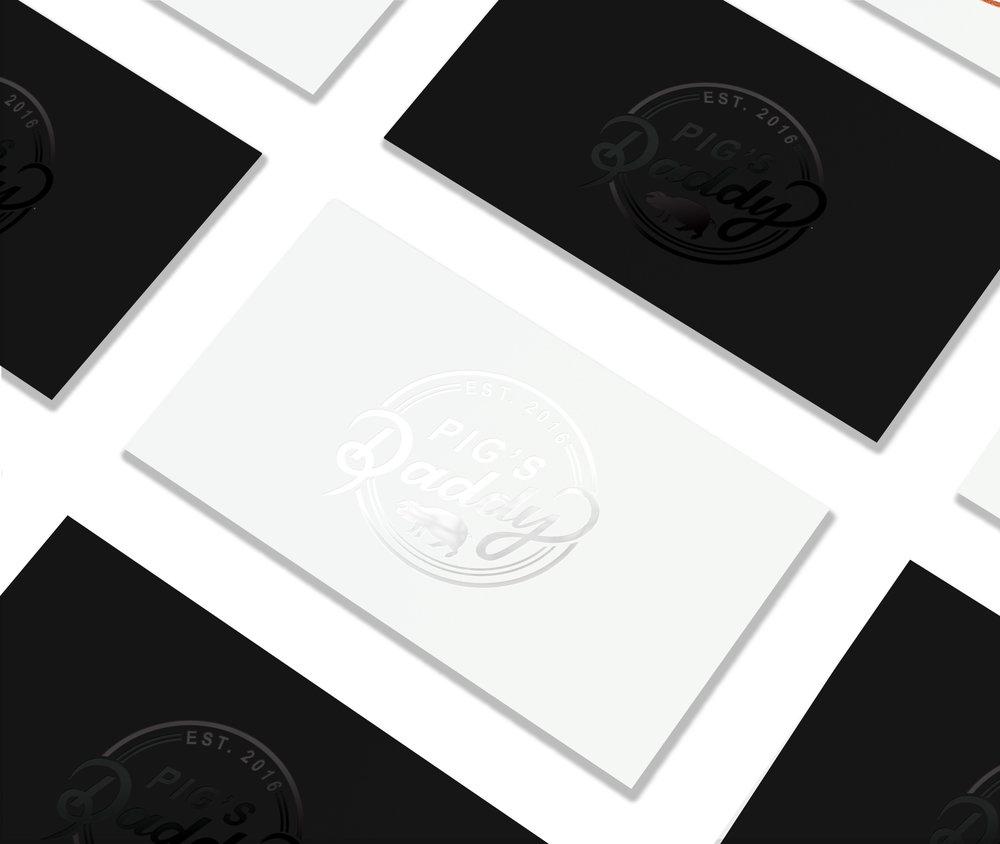 Pig's Daddy // Logo design // Montpellier, France