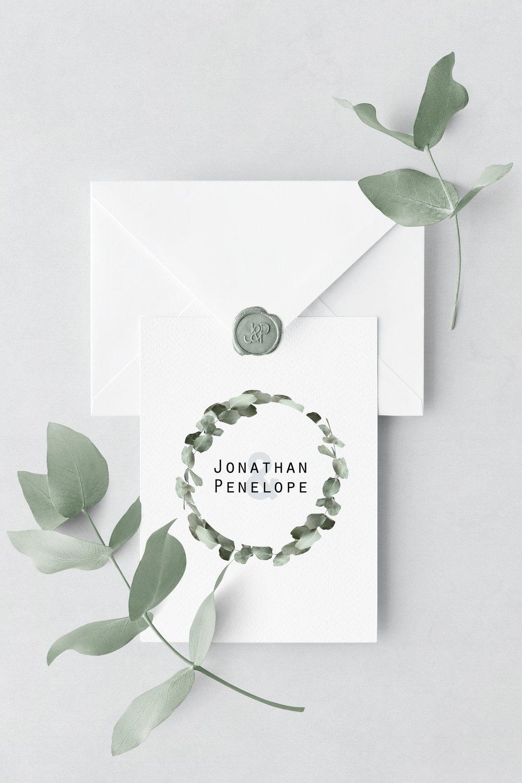 Wedding invitation // Sydney, Australia
