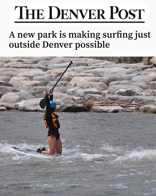 Thank you @denverpost for recognizing our work on River Run Park! 🏄 🌊 📰 This project has only been possible because of people's support as well as our partnerships with local governments and agencies!