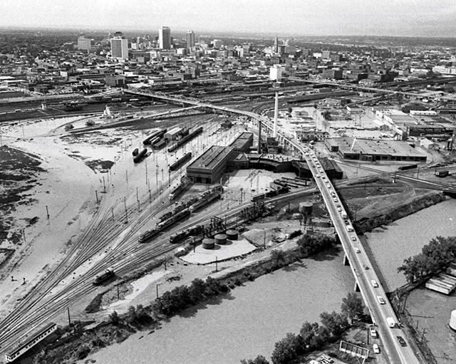 "#ThrowbackThursday ""The 1965 flood claimed 21 lives and resulted in property losses statewide estimated at... $4 billion,"" according to Westword.  State Senator Joe Shoemaker noted that, ""A century of disrespect and disregard [of the river] had been revenged in a few unforgettable hours."" The Denver region responded soon after by forming the Flood Control District."
