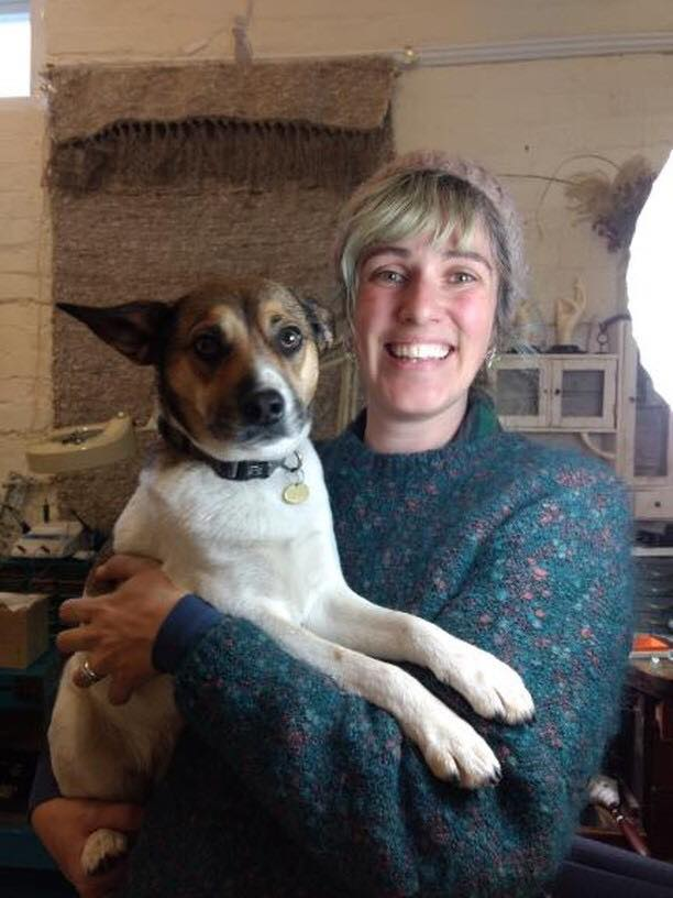 Kelly and Matilda, March 2018, photo taken by Julie of Caveworks Press