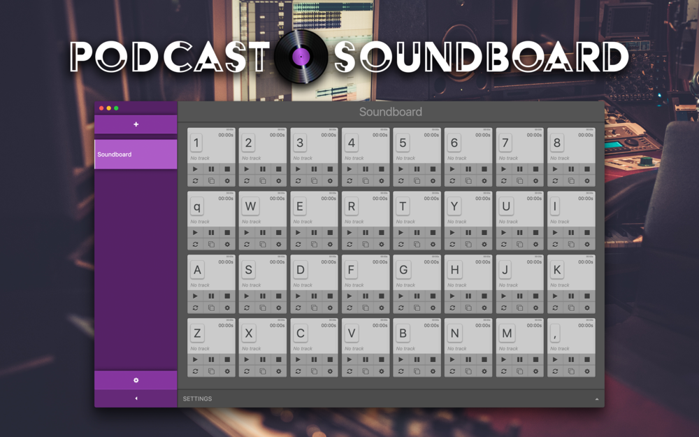Using Podcast Soundboard With GarageBand — Podcast Soundboard