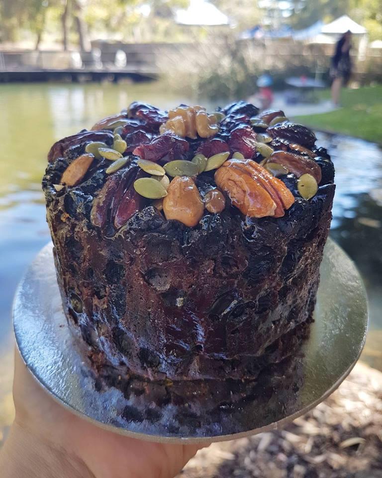 JEWELLED FRUIT CAKE