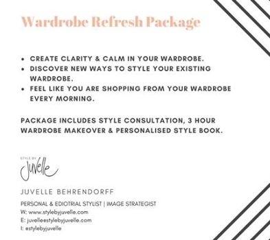 WARDROBE REFRESH $397.60