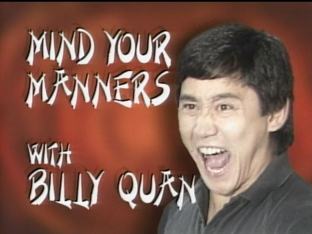 Mind Your Manners with Billy Quan logo