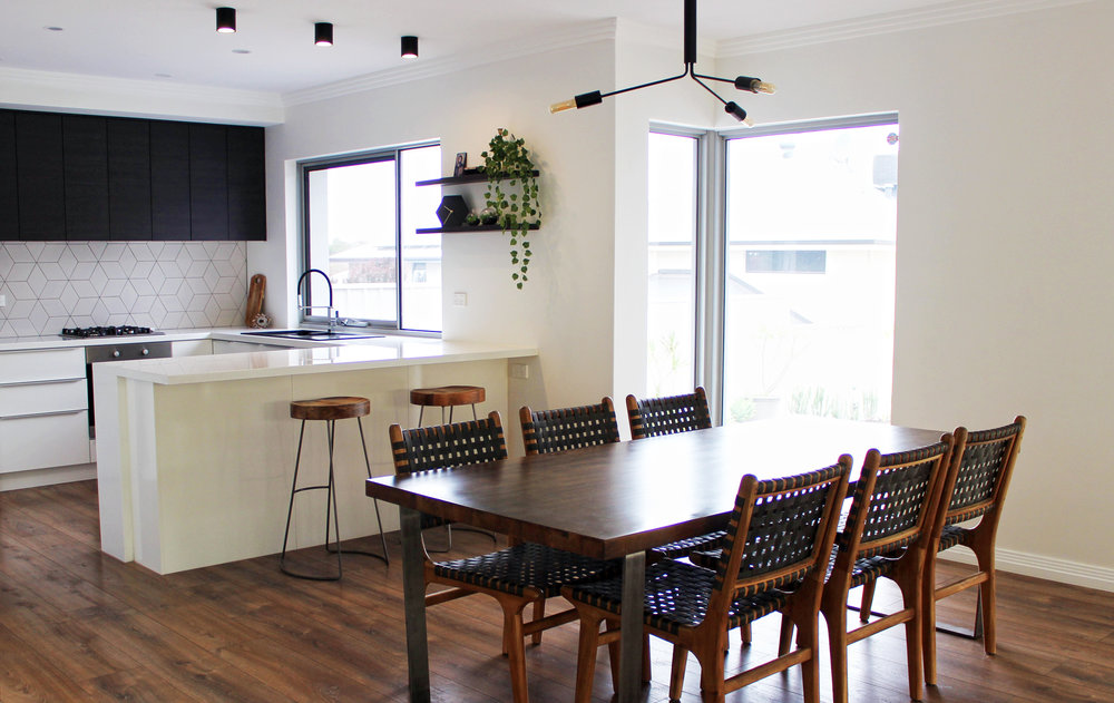 Practicality, Comfort and Aesthetics are the three most important things to consider when designing a home.