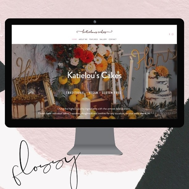 I had the absolute pleasure of working with Kaitlyn from @katielous_cakes cakes on her new website! Although (very sadly) I didn't get to taste, I saw a ton of images of her beautiful baked creations (total drool fest & a 5yo with complete over the top expectations of what her 5th birthday cake should look like after watching me work). If you are in Melbourne and need a wedding/party or for any reason cake/cupcakes/cookies, I totally recommend her, she is extremely lovely and passionate about her craft. Go and have a look at her past work 😋  #webdesigner #webdesignaustralia #squarespacedesigner #cakes #melbourne