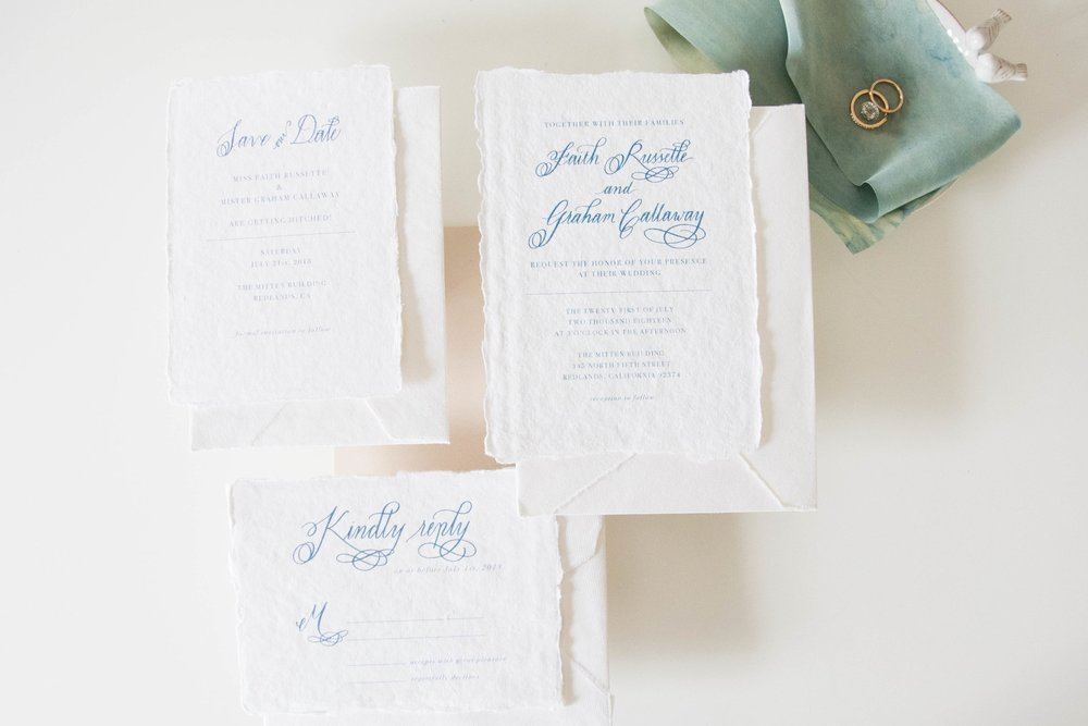 The Minimalist Suite + Save the Date
