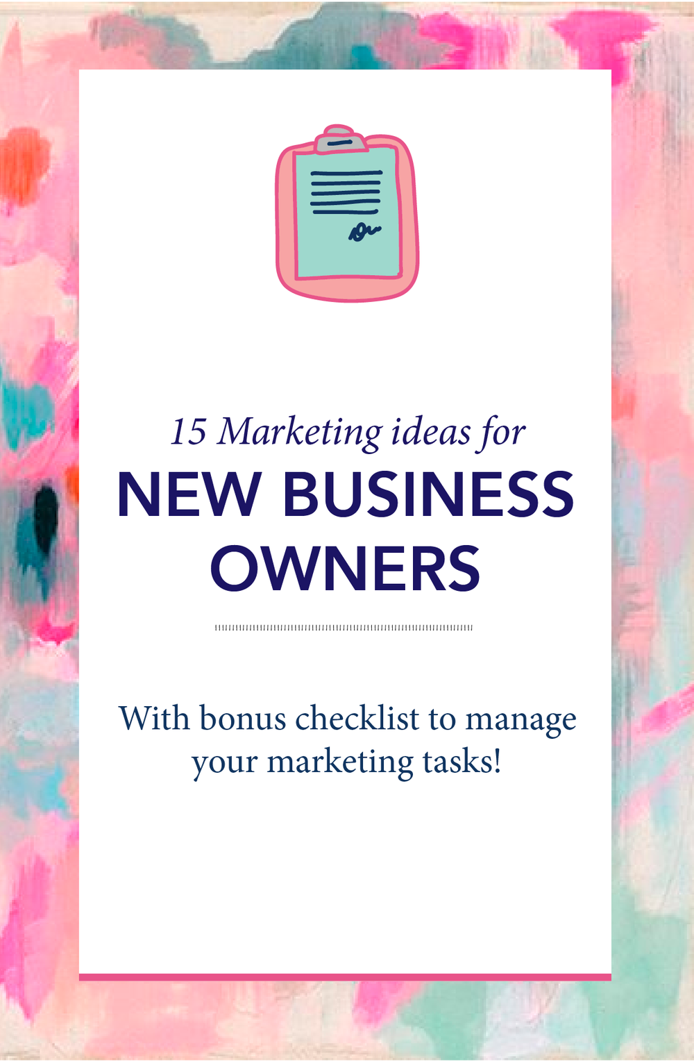 15 Marketing Ideas for New Business Owners | You might already have a business running and you might have built our brand, developed a website, set up your social media accounts and are waiting to book clients and sell your products. In an ideal world, people will be flooding at your online doorstep and are willing to pay what you ask for and everything is good. But in reality, it is nowhere close to it. As a business owner, you've got to wear a lot of hats and one of them and I must say, the most important one is the marketing hat. Marketing to me was very scary until I mastered the skill and I've got a few tricks (tactics and strategies) up my sleeve. I just want to share a few of them with you here to get you started on marketing and get you more clients or have more product sale.