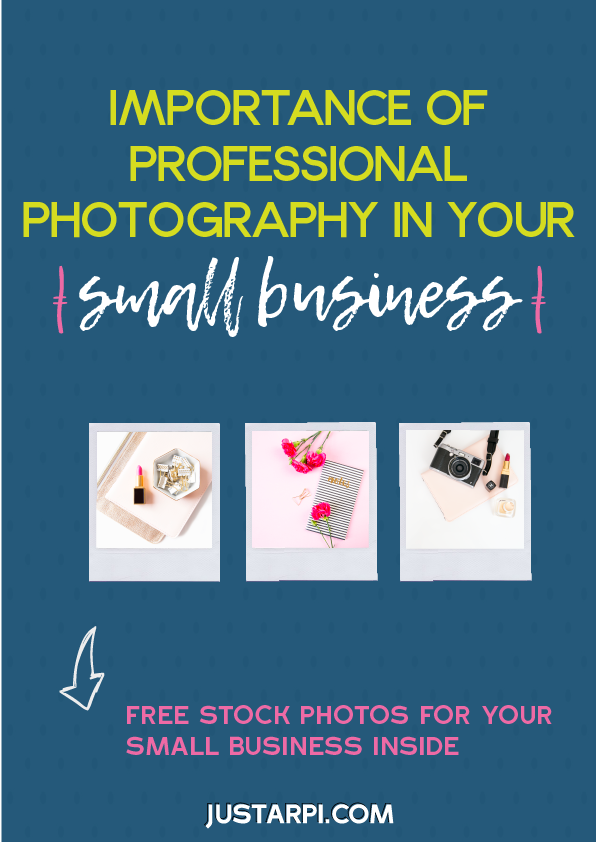 Importance of professional photography for your small business