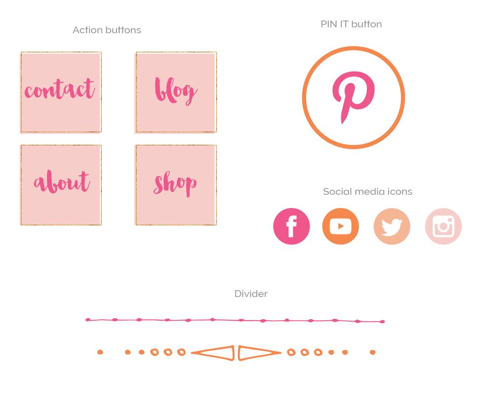 lifestyle blogger logo branding kit premade logo bright-08.png