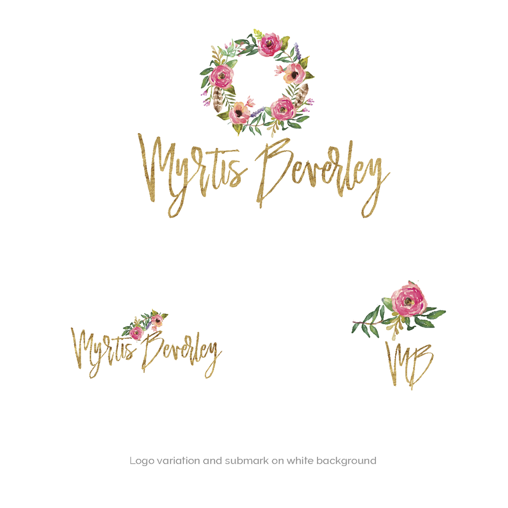 gold and pink logo branding kit premade logo boutique-02.png