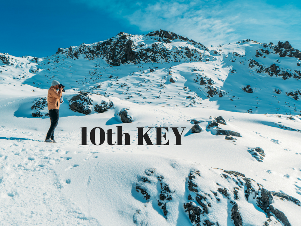 BONUS 1 - To help you really move into a far greater space Steve is also adding a free key as part of this great course. The 10th key is completely free (valued at $97)