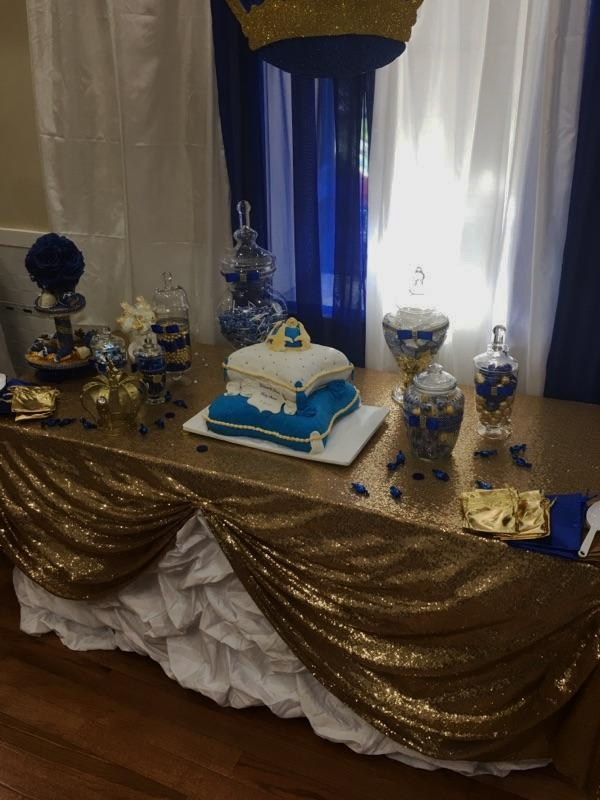 Cake Table for a Royal