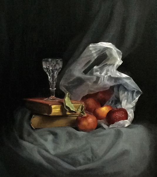 Plastic Bag still life- SOLD