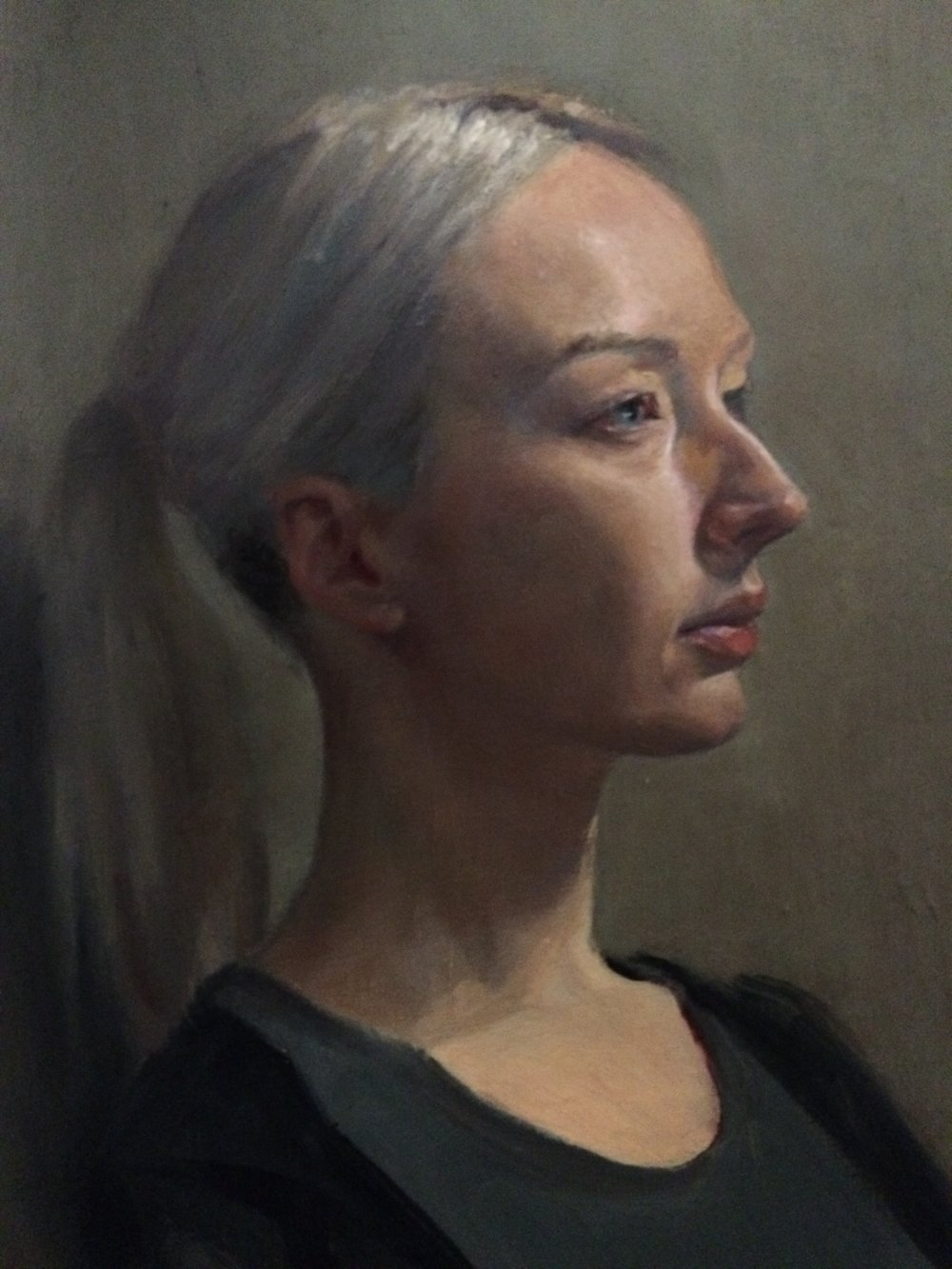 Oil Life Portrait Study