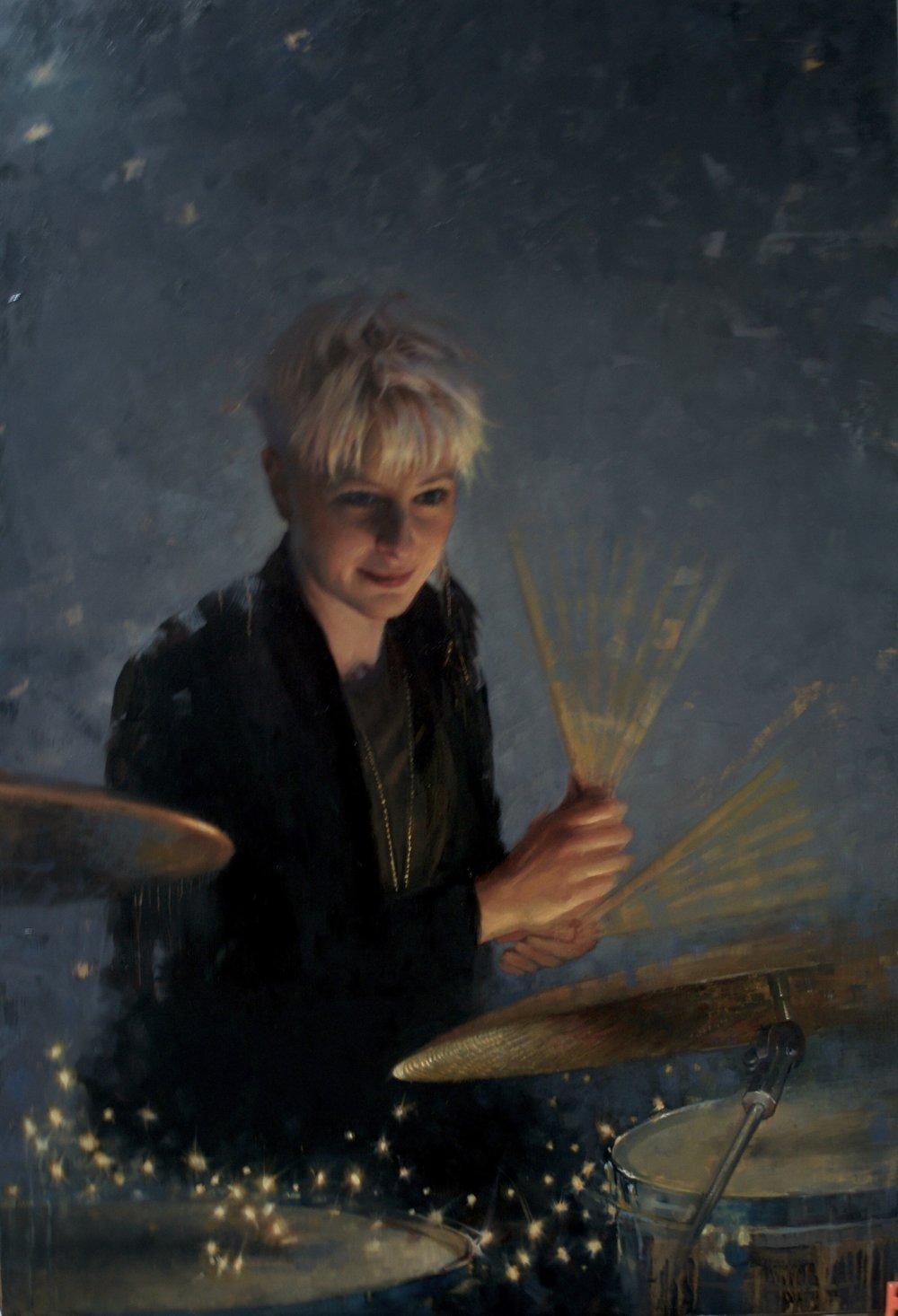 Emily Dolan Davies -Drummer