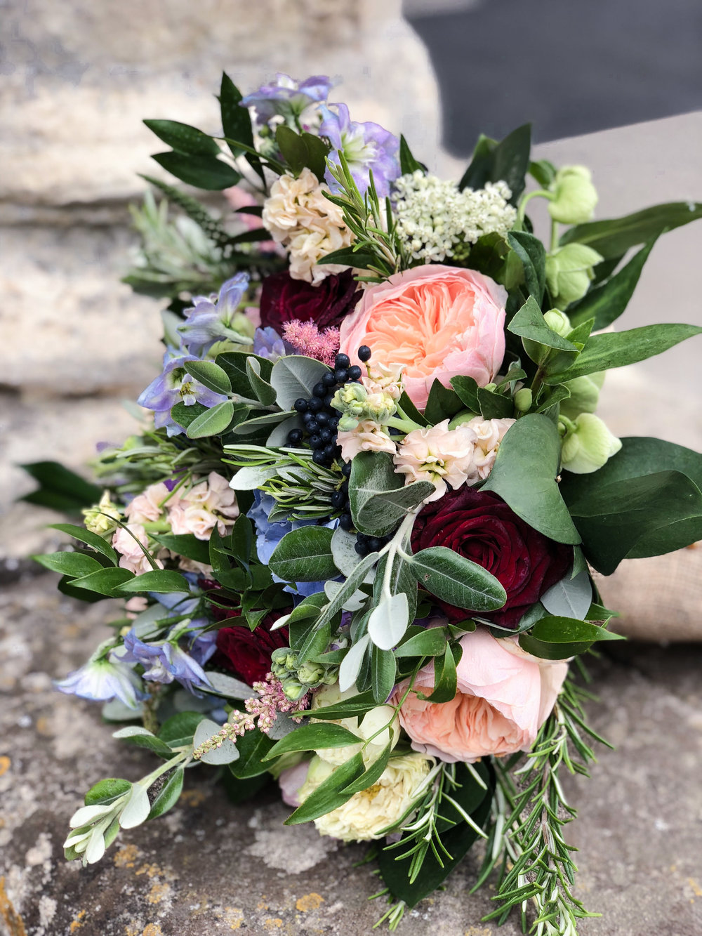 Perfect combination of flowers - From the initial consultation, we'll be working hard to find the perfect combination of flowers, foliages, colours, textures and fragrances for you and your budget.
