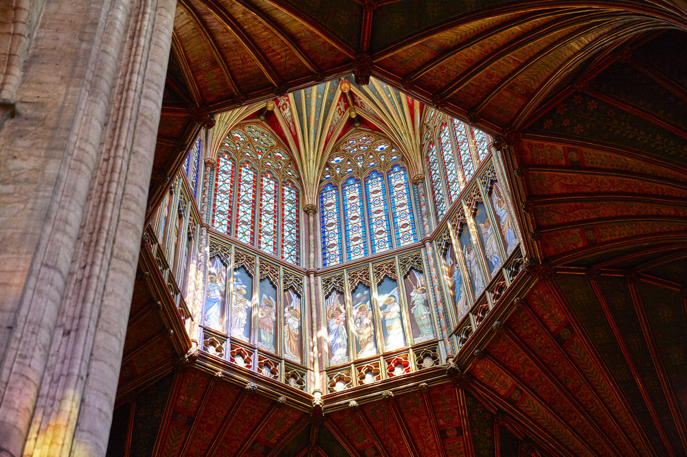 THE GLORY OF ELY     THE OCTAGON