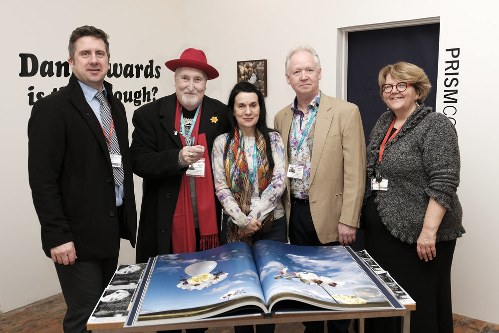 From left: John Harrison, James A Whittaker, Christine Marsden, Alastair Laidlaw and Giil Rutherford