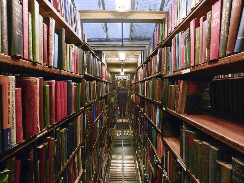 Jimmy Wales - Wikipedia Founder - London Library, London, United Kingdom