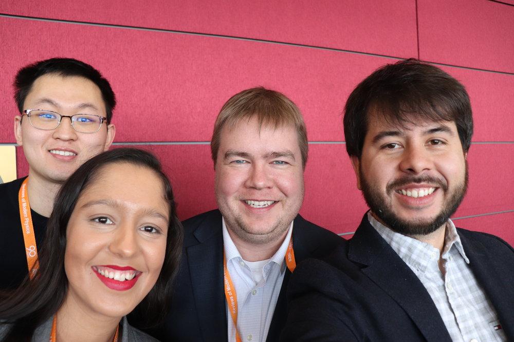 2019 APS March Meeting - Boston, MAYuan Wei, Gabriela Justino, MJAH, Luiz Fernando Vieira