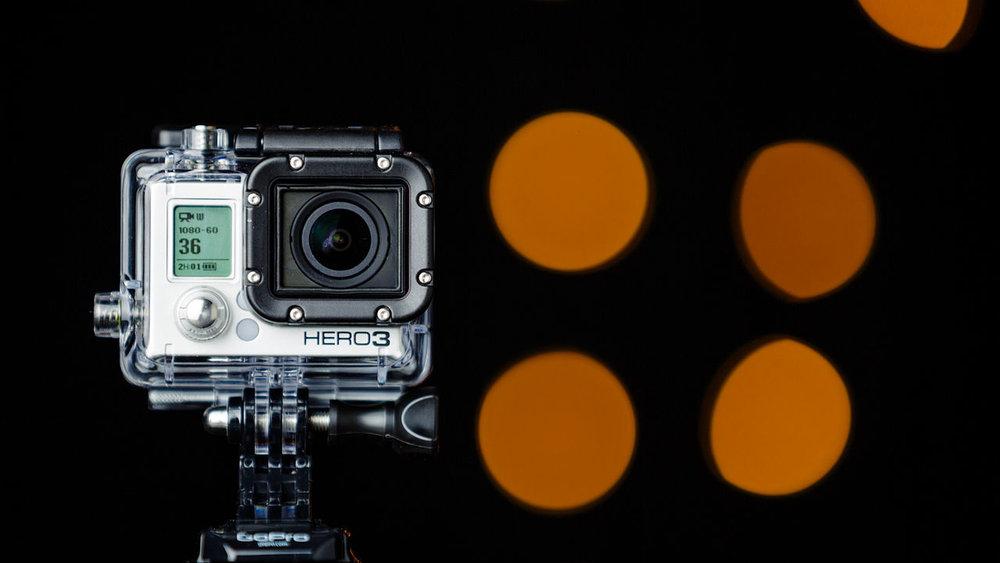 Figur      SEQ Figur \* ARABIC    1       GoPro kamera, HERO3