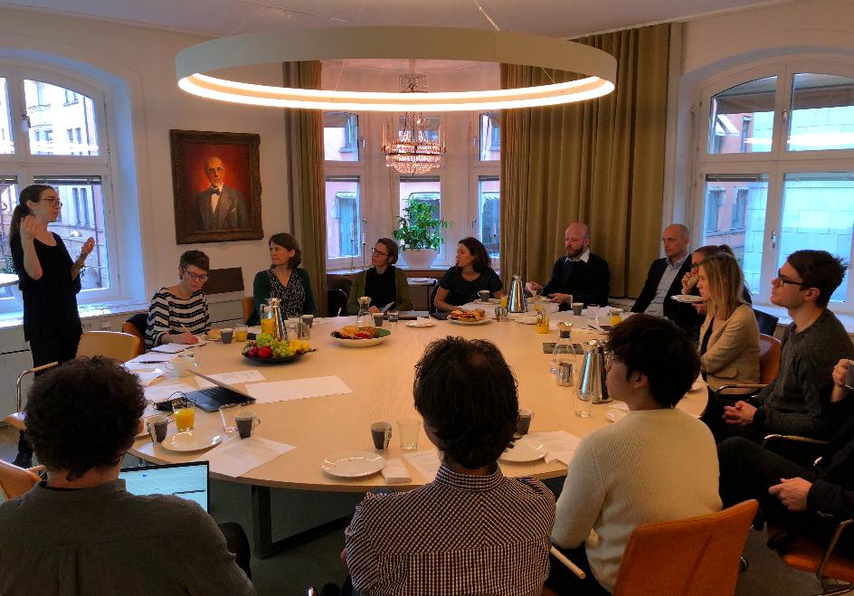 ANNA BELLANDER, STOCKHOLM GREEN DIGITAL FINANCE,PRESENTS KEY DECISION ITEMS OF THE GREEN ASSETS WALLET ALPHA PHASE