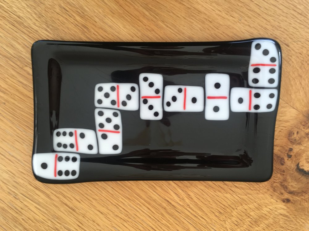 Dominoes Tray