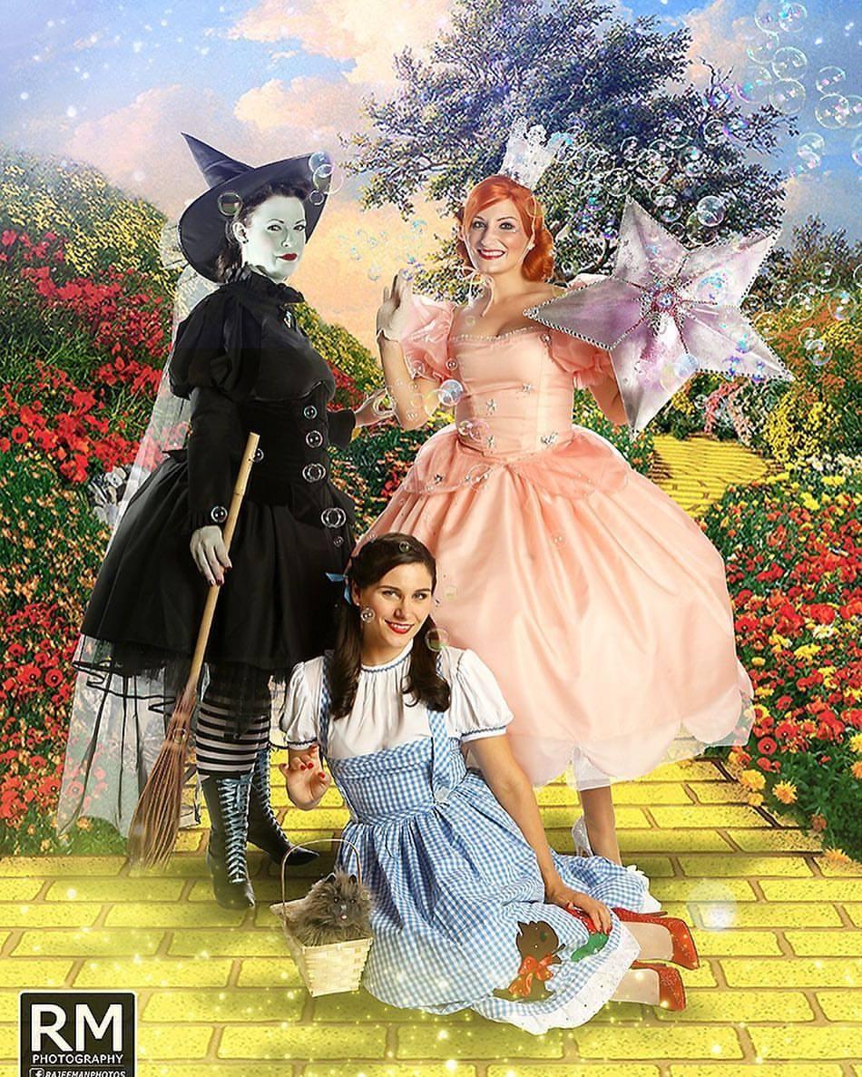 Glinda:Wicked Witch:Dorothy.jpg